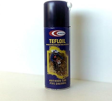 Aceite con Teflon SPRAY Lubricante 400 ml. – Aditivado con PTFE ...