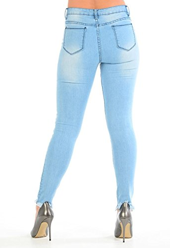 Jeans Wash Momo Fashions Light amp;ayat Donna gwEZq7E