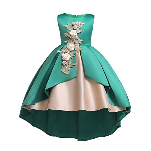 Ceremonia Vestido infantil boda Princesa as de Akaayuko C Ni Tul 7qRwxf