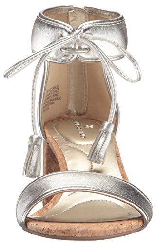 Sandalo Platino Di Sandalo Donna Semitrasparente