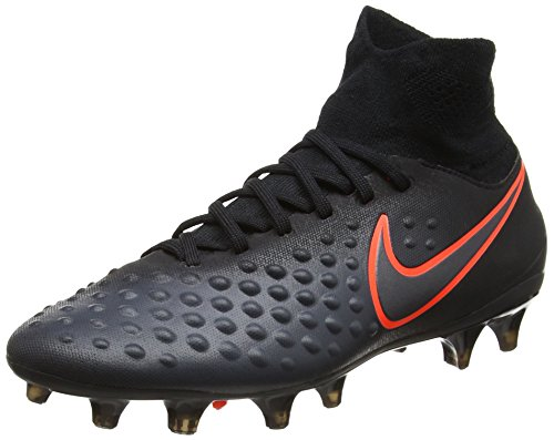 Nike Jungen Jr Magista Obra Ii Fg Fußballschuhe Schwarz (Black/total Crimson)