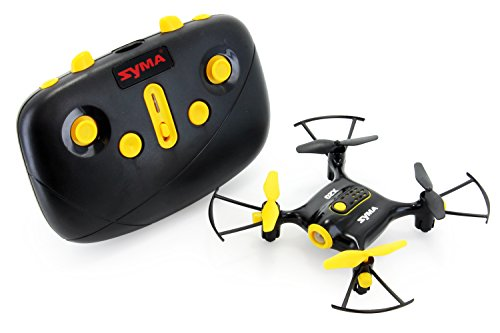 Tenergy Syma X20 Mini Headless Quadcopter RC Drone with Stunt Altitude Holding for Beginner (Tenergy Exclusive Black)