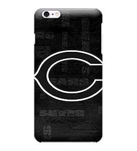 Allan Diy iPhone 6 Plus case cover, NFL - Chicago Bears Black & White - iPhone 6 Plus case cover - High Quality jgXKEL4OR29 PC case cover