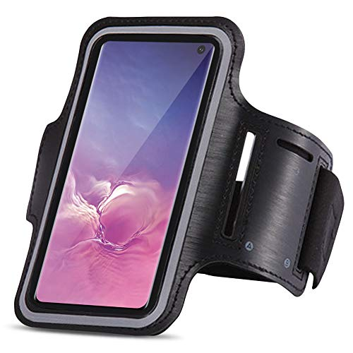 UC-Express Sportarmband compatibel met Samsung Galaxy S10 Plus jogging mobiele telefoon tas hoes fitnesstas running case