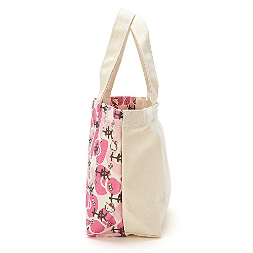 Sanrio Hello Kitty lunch bag ribbon From Japan New by SANRIO