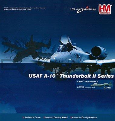Hobby Master 1322 A-10C Thunderbolt II Bagram AB 2016 1/72 Scale Diecast Model