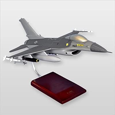 Mastercraft Collection MCF16CAW F-16C Falcon Wood Desktop Model