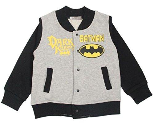 [Stylesilove Little Boys Super Hero Varsity Jacket (18-24 Months, Batman)] (Batman Outfit Baby)