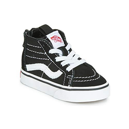 Vans Toddler Sk8-Hi Zip Black White (6.0 Toddler) -