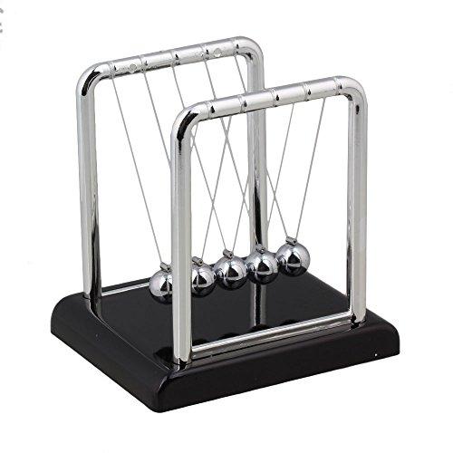 - RDEXP S Size Newton's Cradle Balance Balls Science Kit Desk Toy