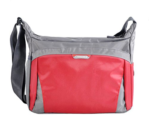 School Shoulder Handbags Casual Totes Messenger Bags Red Satchels (Cellini Bread)
