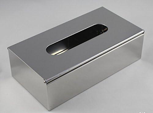 28329-2 Modern Design Papierspender, Spender für Kosmetiktücher, Kosmetiktücherbox, Edelstahl 18/8 (SUS304), hoch glänzend