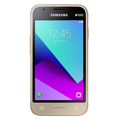 Samsung Galaxy J1 Mini prime 8GB J106B/DS Dual Sim Unlocked Phone - Retail Packaging (Gold) - International Version