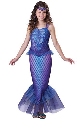 Mermaid Halloween Costumes For Tweens (InCharacter Costumes Big Girl's Mysterious Mermaid Extra Large Childrens Costume, Multi, Extra)