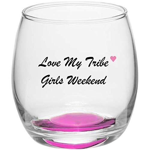 Girls Weekend Wine Glass