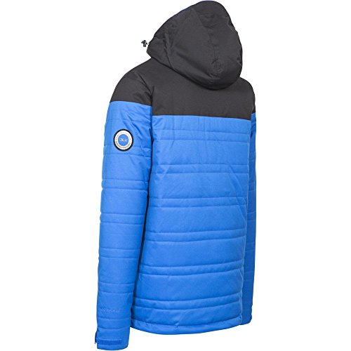 Hayes Men's with Jacket Ski Trespass Waterproof Blue Removable Hood BqnS5CCwx