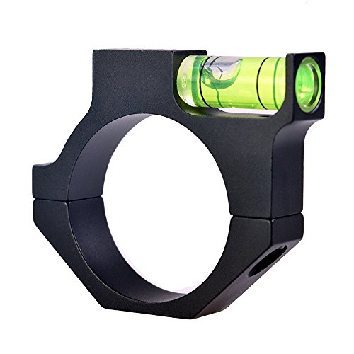 Rifle Scope Bubble Level Optics Bubble Level Fit for 1.18in(30mm) Riflescope Tube Anti-cant Used for Shooting and Hunting
