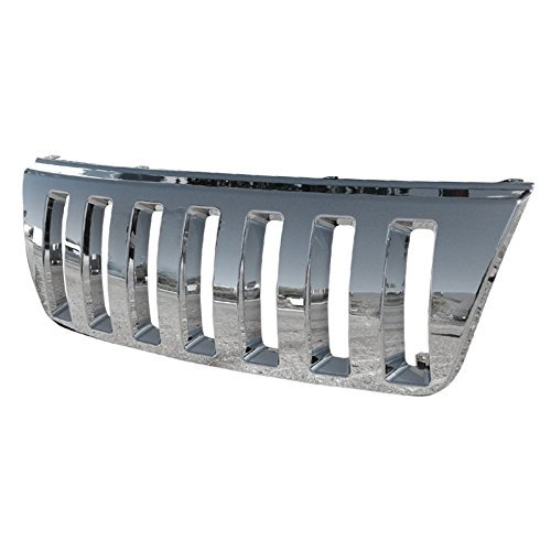 jeep cherokee chrome grill - 7