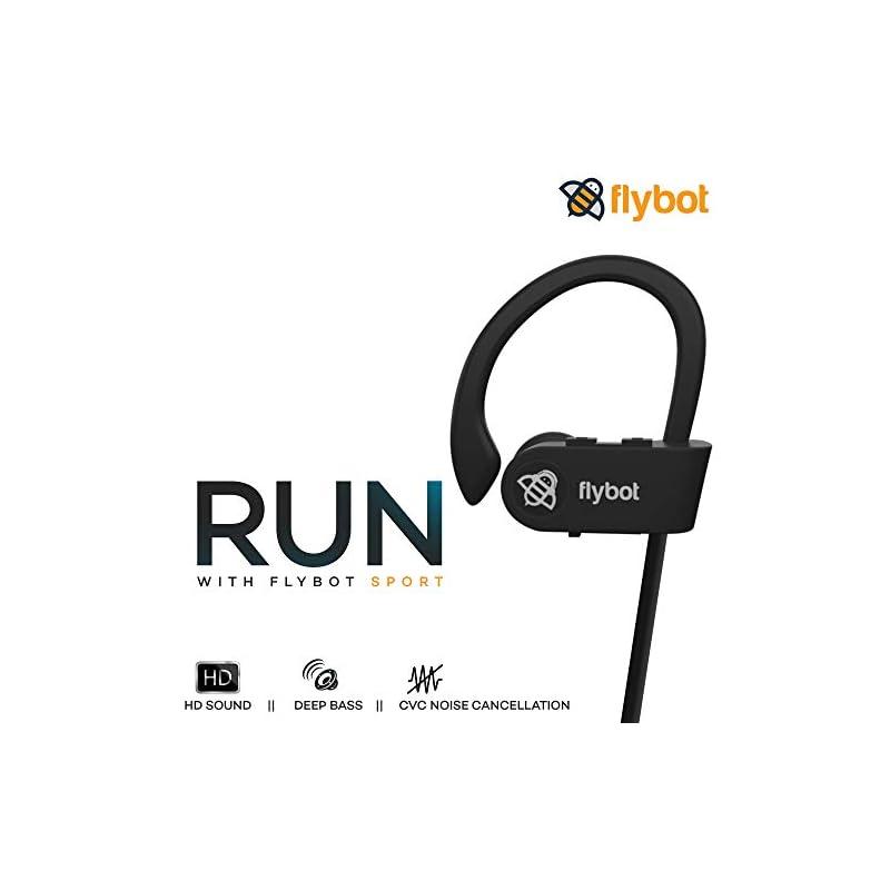Best Flybot Waterproof Wireless Bluetooth Earphones with Mic Online India