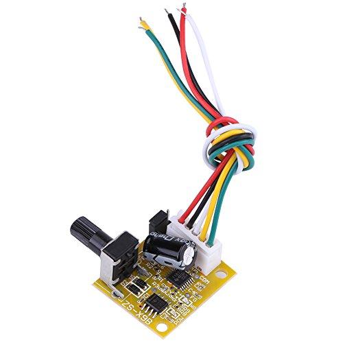 Sensorless Motor Speed Controllers (DC 5V-15V 15W BLDC 3-Phase Brushless Motor Driver Sensorless Speed Controller)