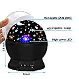 ATOPDREAM Amusing Moon Star Projector Light for