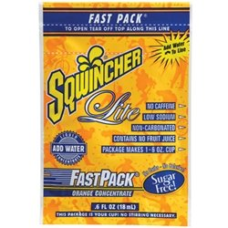 Sqwincher 015301-CH .6 Ounce Fast Pack Liquid Concentrate Packet Cherry Electrolyte Drink - Yields 6 Ounces (50 Single Serving Packets Per Box), English, 15.34 fl. oz., Plastic, 1 x 1 x 1
