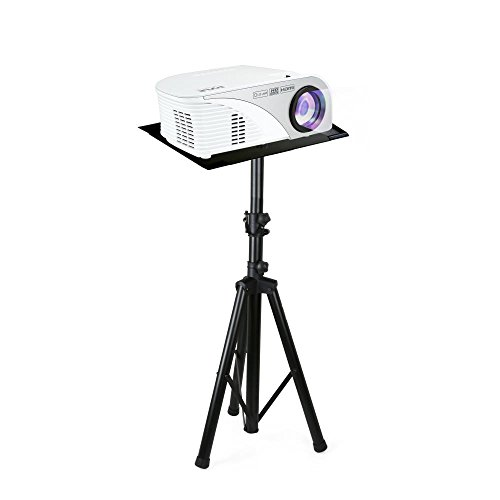 Pyle Pro DJ Laptop Stand, Projector Stand, Adjustable Laptop Stand, Laptop Stand, Multifunction Stand, Adjustable Tripod Laptop Projector Stand, 30