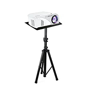 Pyle Pro DJ Laptop Stand, Projector Stand, Adjustable Laptop Stand, Laptop Stand,  Multifunction Stand, Adjustable Tripod Laptop Projector Stand, 30″ to 55″, Good For Stage or Studio (PLPTS7)