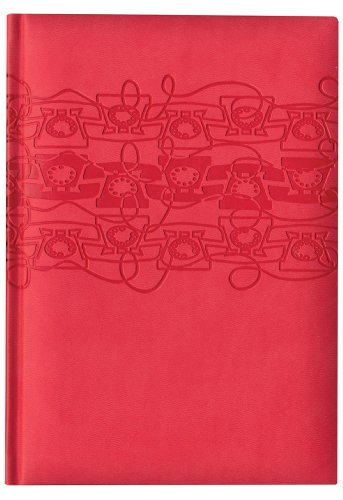 - Pierre Belvedere Off the Hook Large Address Book, Padded Cover, Coral (277100)