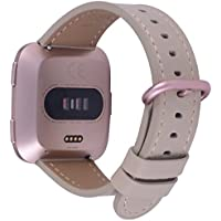 Peak Zhang Genuine Leather Wrist Strap with Rose Gold Metal Clasp