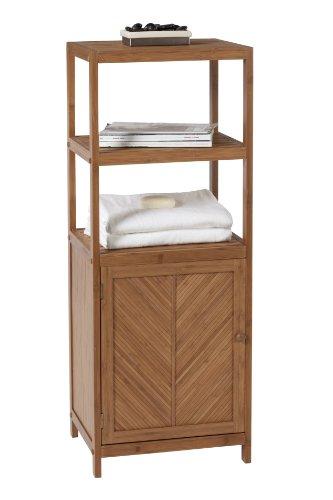 Creative Bath Eco Styles 3-Shelf Tower with Cabinet by Creative Bath