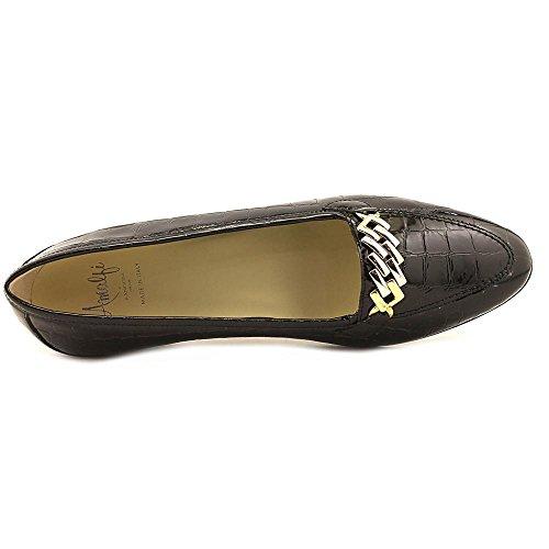 Amalfi by Rangoni Womens OSTE Closed Toe Loafers Black-crocodile 80vfc2