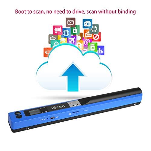 (Kytree Portable Handheld Mobile Document Scanner Pen Style 900DPI USB 2.0 LCD)