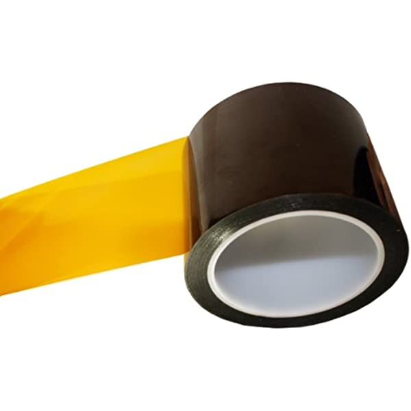 6.875 x 36 Yards Kapton 18-1S Polyimide Tape with Silicone Adhesive