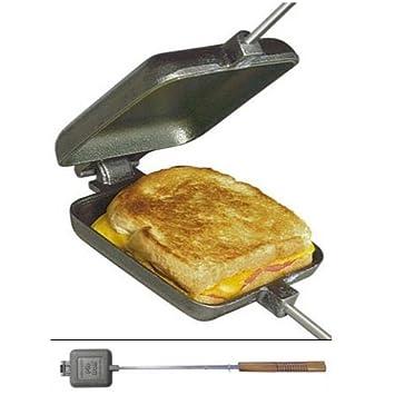 Stick a knife into a toaster
