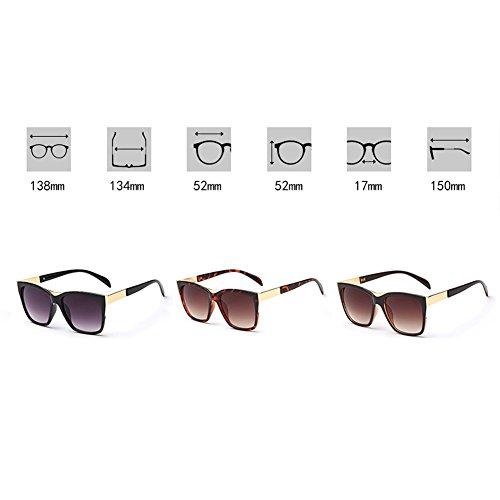 2b189a584b De alta calidad Gafas de sol cuadradas de la manera gafas de sol de la cara