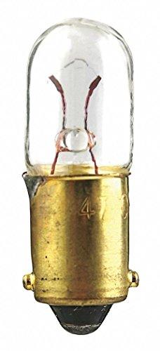 Trade Number 1810, 2.5 Watts Miniature Incandescent Bulb, T3-1/4, Miniature Bayonet (BA9s)