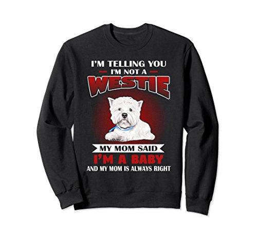 (Unisex Westie Highland White Terrier T-Shirt/Sweatshirt XL: Black)