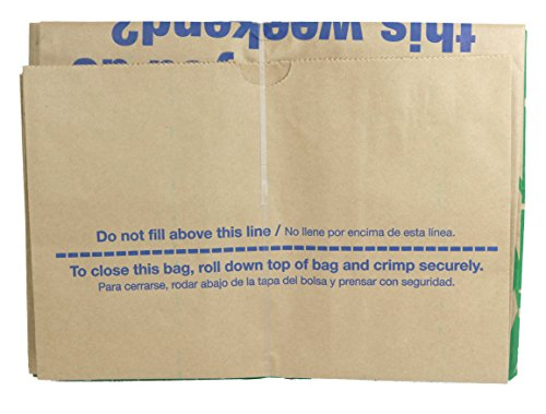 Lowe's 30 Gallon Heavy Duty Brown Paper Lawn and Refuse Bags for Home and Garden (25 Count) by Lowe's (Image #4)