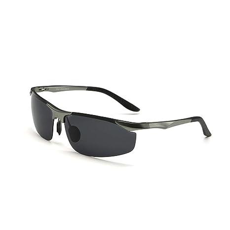 Gafas de sol para hombre Gafas de sol polarizadas deportivas ...