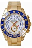 Men's 18K Gold Rolex Yachtmaster II (Small Image)