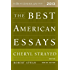 The Best American Essays 2013 (The Best American Series ®)