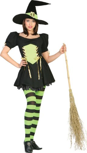 The Emerald Witch Adult Costume - Medium 2018
