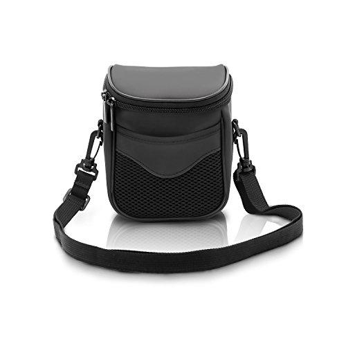 (FOSOTO High Zoom Digital Camera Case Bag Compatible for Nikon Coolpix L340 B500 L330 L830 L840 L32 V3 V2 J5,Canon Powershot SX530 SX540 SX510 HS,Fuji S8650 S8600,Panasonic Lumix LZ40 LZ30 - Black )