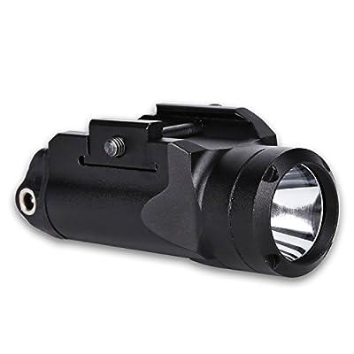 QR Laser( TM QD01 450 Lumen Strobe LED Flashlight for Glock Series,Sig Sauer,etc