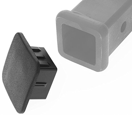 Quot trailer hitch cover tube plug insert fits receivers