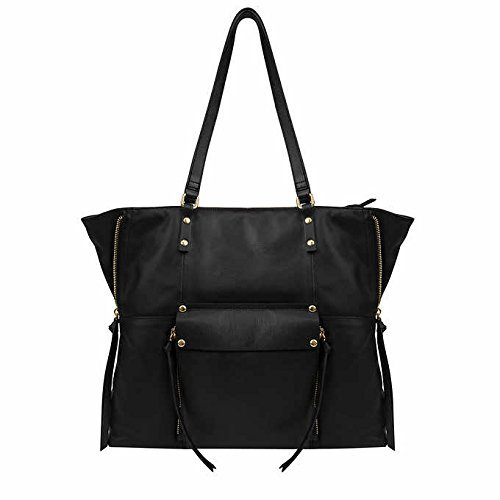 Wholesale Womens Handbags (Kooba Leather Tote (Black))