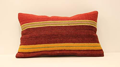 Throw lumbar pillow cover 12X20 old pillow sofa pillow covers home pillow deco pillow boho pillow covers moroccan pillow cushion pillow covers decorative pillow case kilim pillow turkish kilim - Deco Bolster