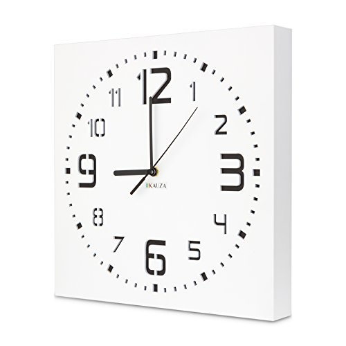 Wall Clock by Kauza, Silent, Non-Ticking, Quartz, Indoor and