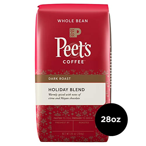 Peet's Coffee Holiday Blend, Whole Bean Dark Roast, 28 Ounce Bag